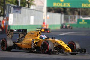 F1 Jolyon Palmer beim GP von Europa in Baku