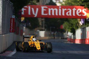 Kevin Magnussen beim F1 GP Europa Baku