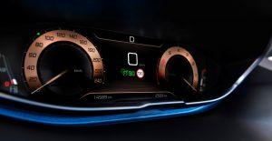 Peugeot 3008 GT digitales Kombiinstrument
