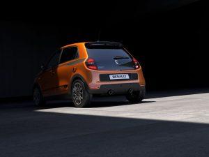 Neuer Renault Twingo GT Heckansicht