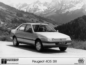 Peugeot 405 berline SRI aus dem Jahr1988