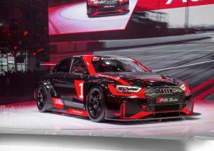 Audi RS 3 LMS auf der Paris Motor Show 2016
