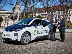 BMW i3 an Bayerisches Staatsministerium der Justiz übergeben