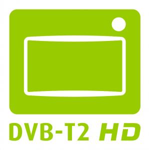 DVB-T2 HD Logo