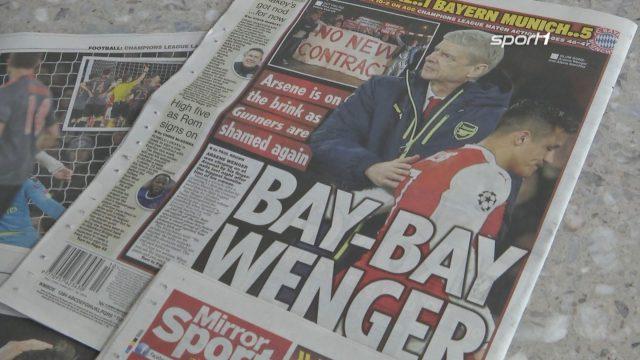 Englische Presse zerlegt Wenger