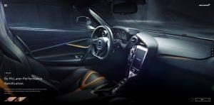 McLaren 720S Innenraum