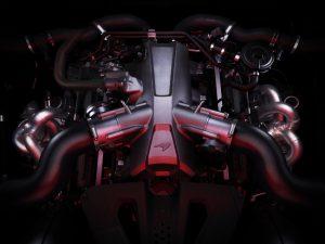 McLaren720S Triebwerk neuer M840T Motor