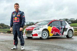 Sebastien Loeb Rallycross WM 2017 Peugeot 208 WRX