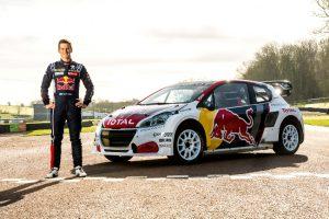 Timmy Hansen Rallycross WM 2017 Peugeot 208 WRX