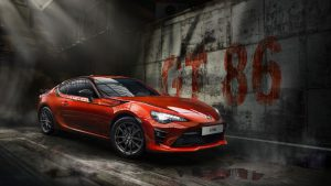 Toyota GT86 Tiger Lackierung in Tiger Orange