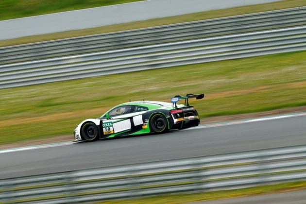Audi R8 LMS #50 (Yaco Racing), Rahel Frey/Philip Geipel