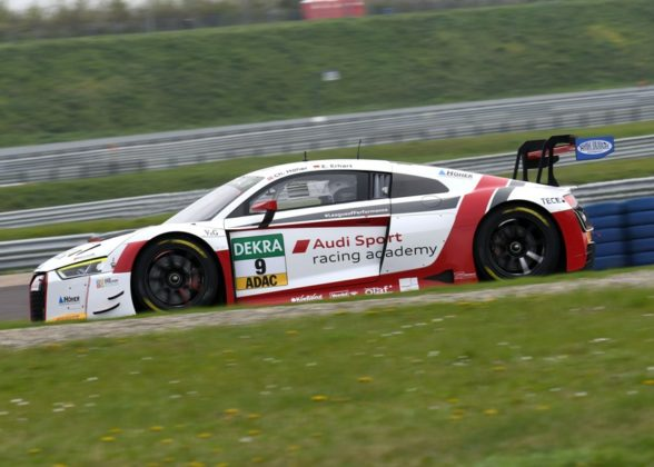 ADAC GT Masters 2017 Audi R8 LMS #9 (Audi Sport racing academy), Christopher Höher/Elia Erhart