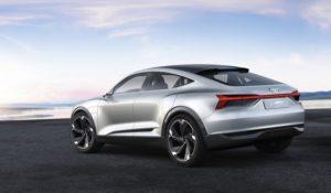 Audi e-tron Sportback concept LED Rückleuchte