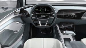 Audi e-tron Sportback concept Innenraum