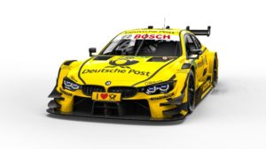 BMW M4 DTM DEUTSCHE POST