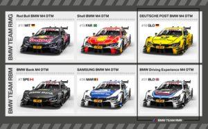 DTM Line-up 2017 BMW M4 DTM
