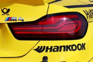 BMW M4 DTM 2017 neugestaltete Heckleuchten