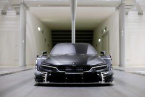 DTM 2017 BMW M4 Modell im Windkanal