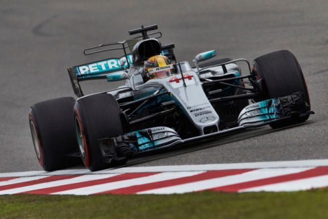 Formel 1 GP Spanien 2017. Lewis Hamilton holt die Pole Position