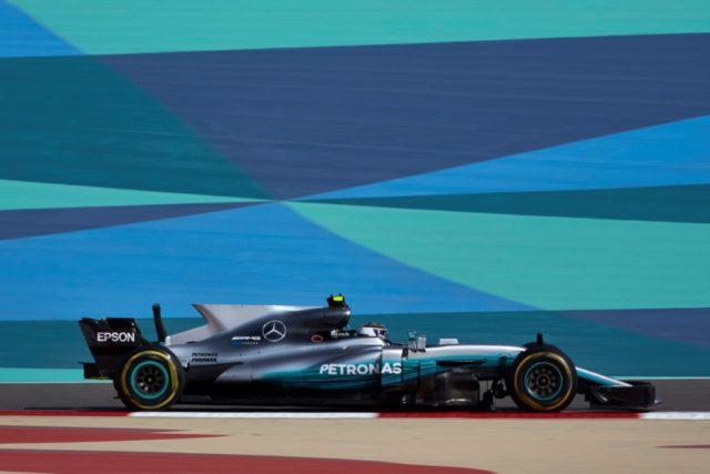 Formel 1 - Mercedes-AMG Petronas Motorsport, Großer Preis von Bahrain 2017. Valtteri Bottas holt Pole