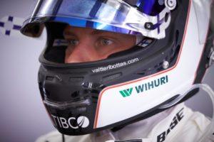 F1 Silberpfeil Pilot Valtteri Bottas