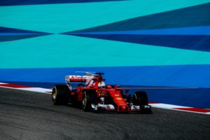 F1 GP Bahrain Ferrari Sebastian Vettel Platz 3 im Qualifying