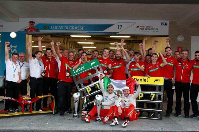 FIA Formula E Mexico City ABT Schaeffler Audi Sport