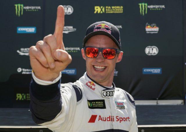 FIA-Rallycross-WM 2017, Montalegre Mattias Ekström