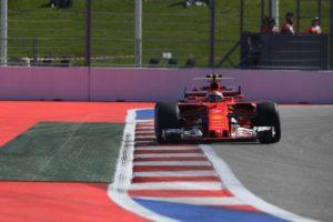 Ferrari Kimi Raikkönen Russland GP Sotschi 2017