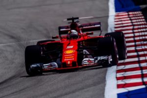 Ferrari Sebastian Vettel GP Russland Sotschi 2017