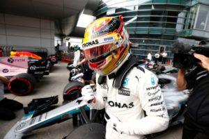 Formel 1 GP von China 2017. Lewis Hamilton gewinnt in Shanghai