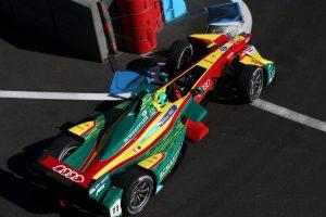Formel E Audi Pilot Lucas di Grassi gewinnt in Mexico-Stadt