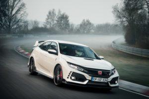 Honda Civic Typ R erzielte neue Strecken-Bestzeit auf dem Nürburgring