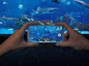 LG G6 mit 5 Megapixel Selfie Kamera