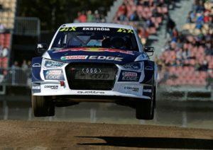 Rallycross WM Mattias Ekström reist als Spitzenreiter nach Portugal