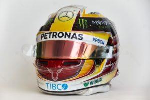 Mercedes AMG Petronas Motorsport, Lewis Hamilton Helm
