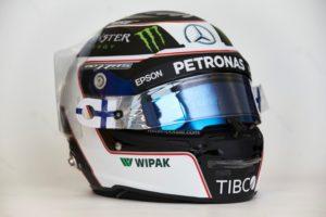 Mercedes AMG Petronas Motorsport Valtteri Bottas Helm
