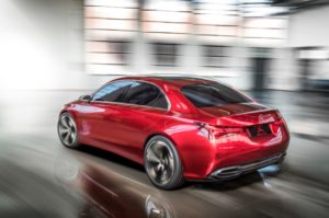 Mercedes-Benz Concept A Sedan Concept Car