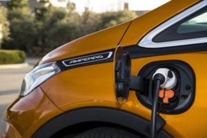 Opel-Ampera-e Aufladen des  60 kWh Lithium-Ionen-Batterie