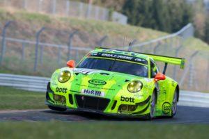 Porsche 911 GT3 R (#911), Manthey Racing Romain Dumas, Richard Lietz, Frédéric Makowiecki, Patrick Pilet