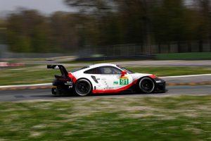 Porsche 911 RSR (91), Porsche GT Team: Richard Lietz, Frederic Makowiecki