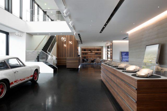 Porsche auf Sylt Showroom