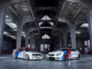 BMW M6 GT3 in besonderem historischem Design vom BMW E30 M3