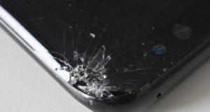 Beschädigung beim Galaxy S8 nach dem Falltest