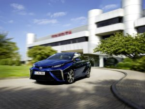 Toyota Mirai  Brennstoffzellen-Limousine