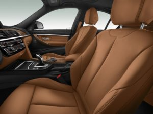 BMW 3er Editionsmodell Interieur Leder Dakota Cognac