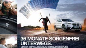 BMW kostenlose Reifenversicherung