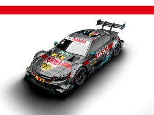 DTM 2017 Mercedes AMG Robert Wickens im VfB Stuttgart Design