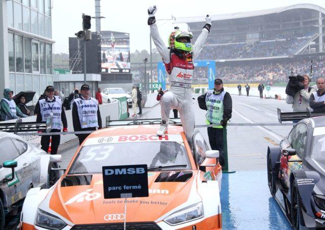 DTM Hockenheim 2017 Jamie Green Audi RS 5 DTM