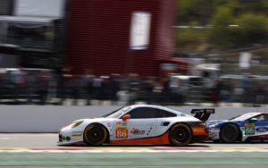 Porsche 911 RSR (86), Gulf Racing Michael Wainwright, Ben Barker, Nicholas Foster